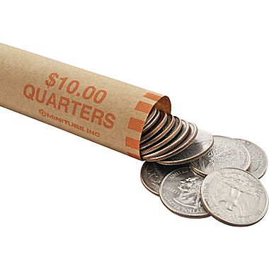Quarter Roll Wrap (Image from Staples)