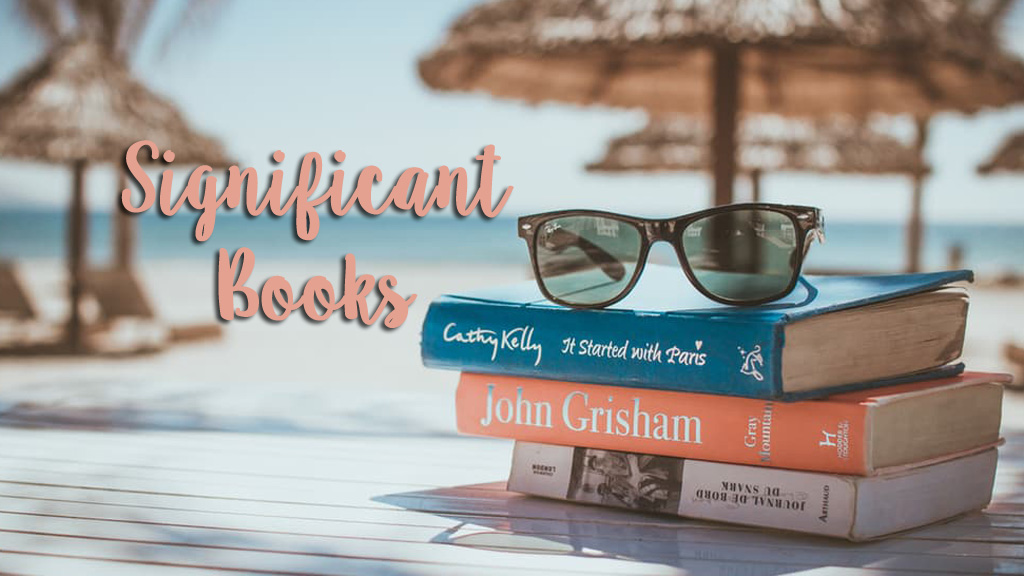 Significant Books (Image from Unsplash.com)