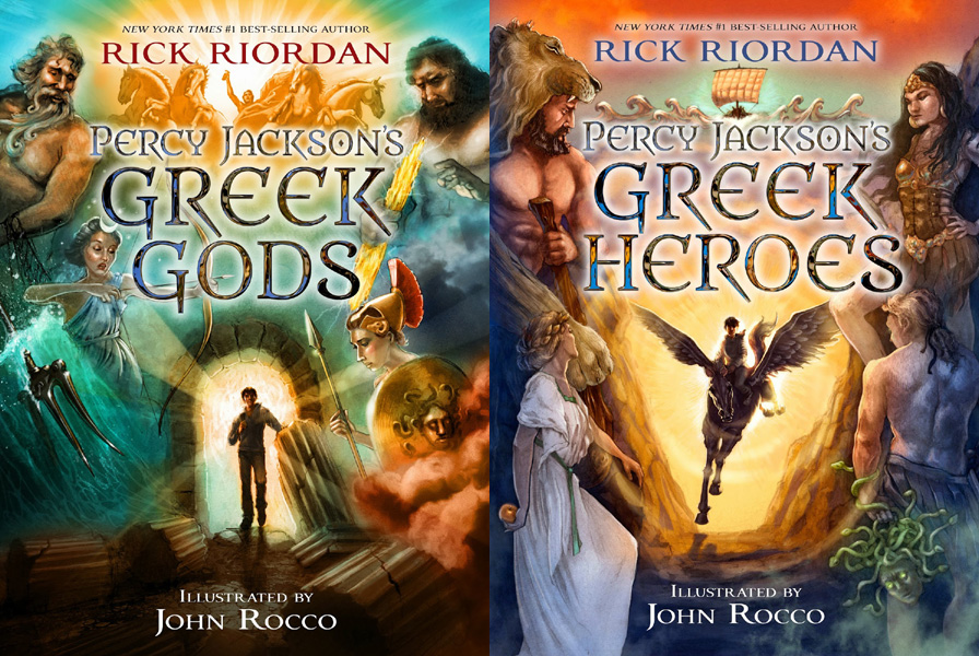 Percy Jackson's Greek Gods and Greek Heroes