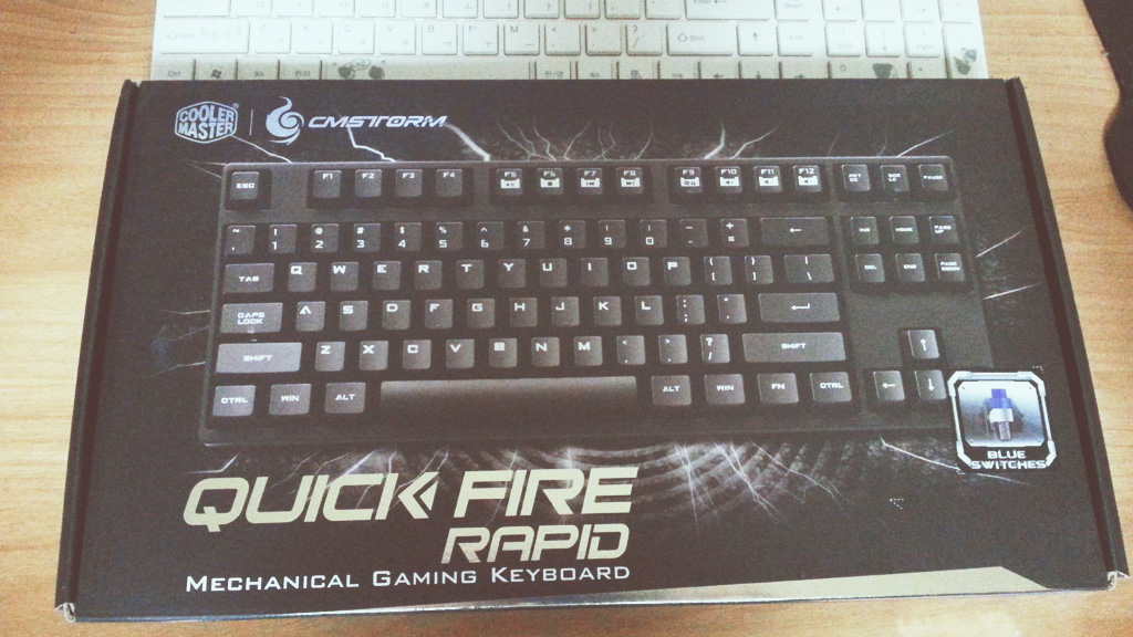 CMStorm Quick Fire Rapid Mechanical Keyboard
