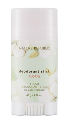 Nature Republic's Fresh Deodorant Stick (Floral)