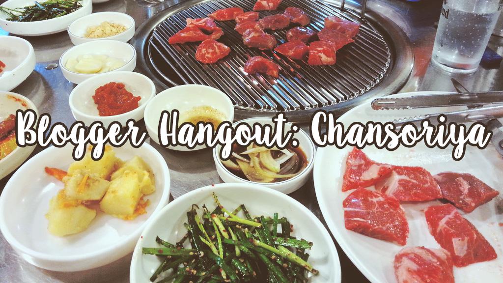 Blogger Hangout: Chansoriya