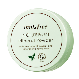 Innisfree's No-sebum Mineral Powder
