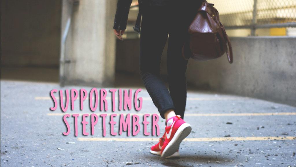 Supporting Steptember (Original Image from Unsplash.com)