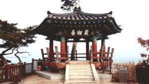 Uisangdae (Uisang Pavilion) at Naksansa