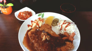 Donkkaseu -- Korean Pork Cutlet