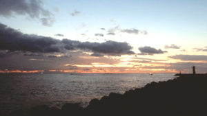Sunrise at Bongpo Harbour