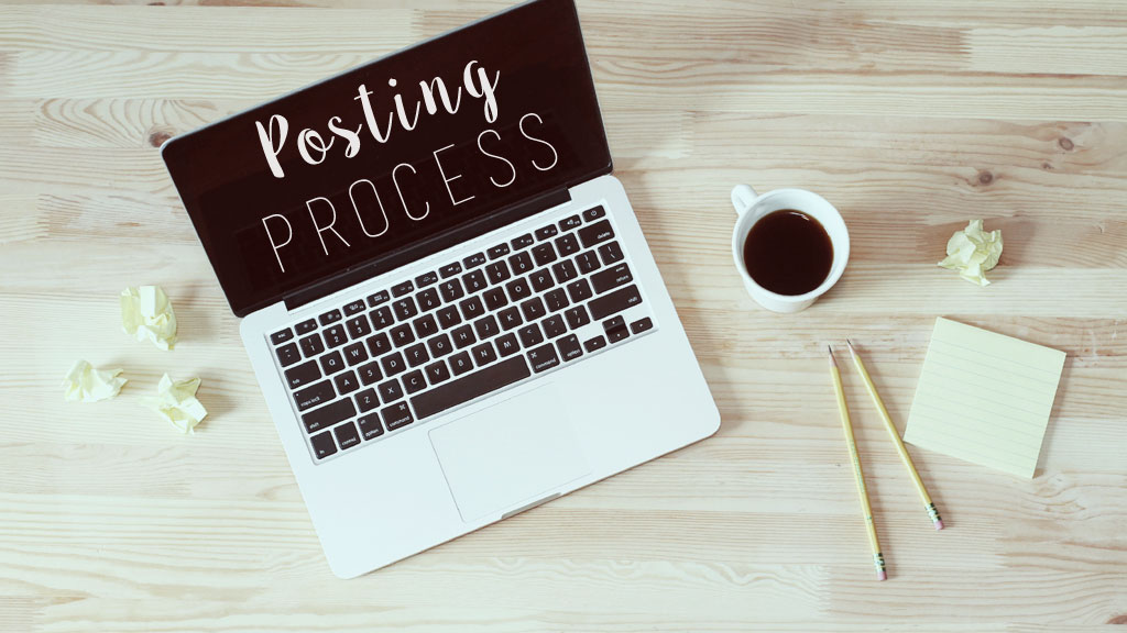 Posting Process Header (Original Image from Unsplash.com)