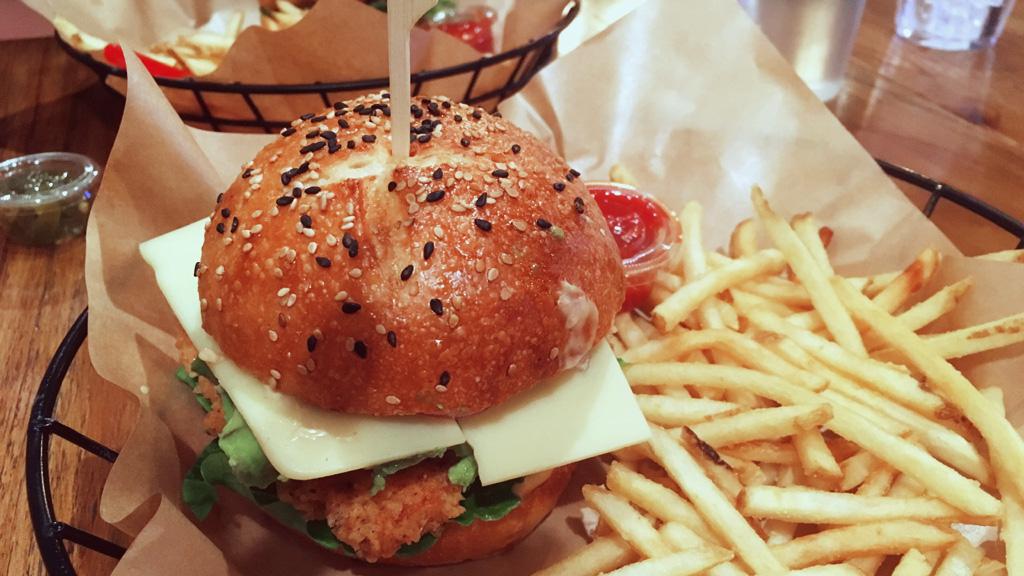 Chicken Sandwich at Rye Post