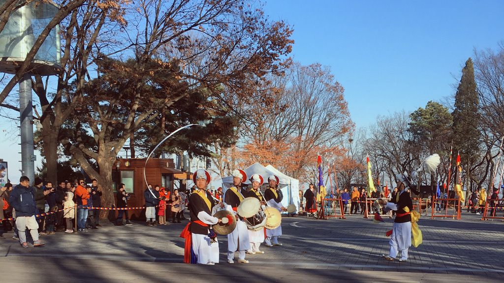 Traditional Show at Seoul Tower