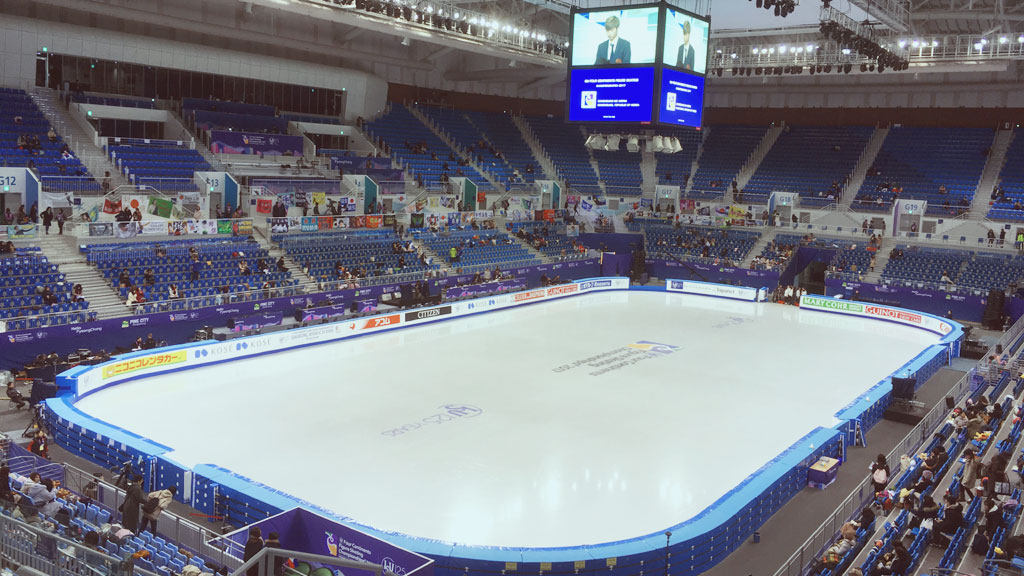 Ice Rink in Gangneung Ice Arena