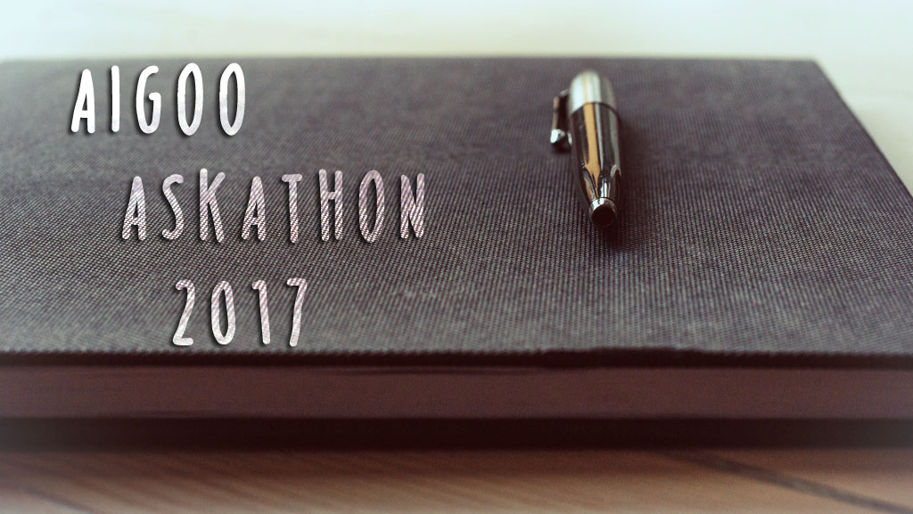 Aigoo Askathon 2017 (Original Image from Unsplash.com)
