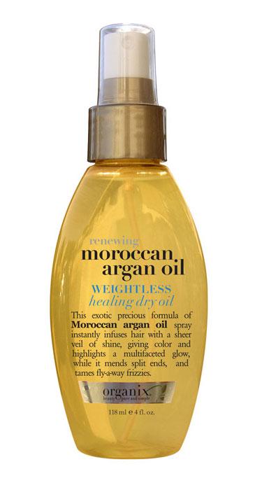 Organix's Weightless Healing Dry Oil