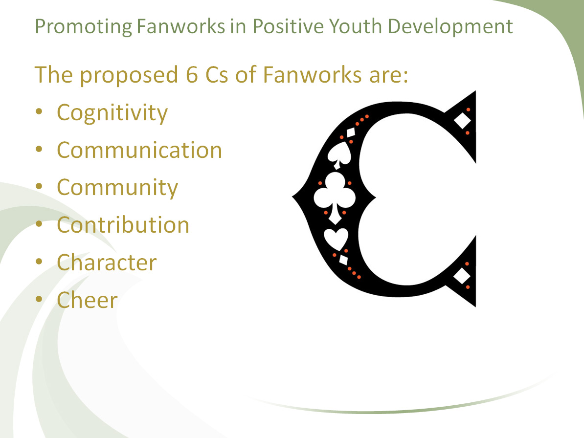 6 Cs of Fanworks