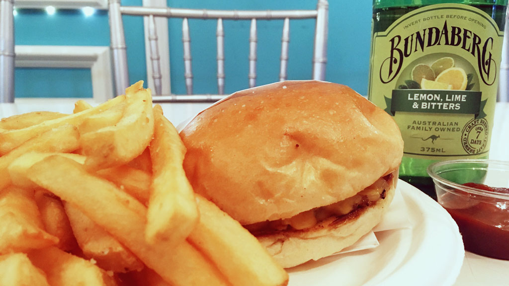 Cali Kitchen's Burger and Fries