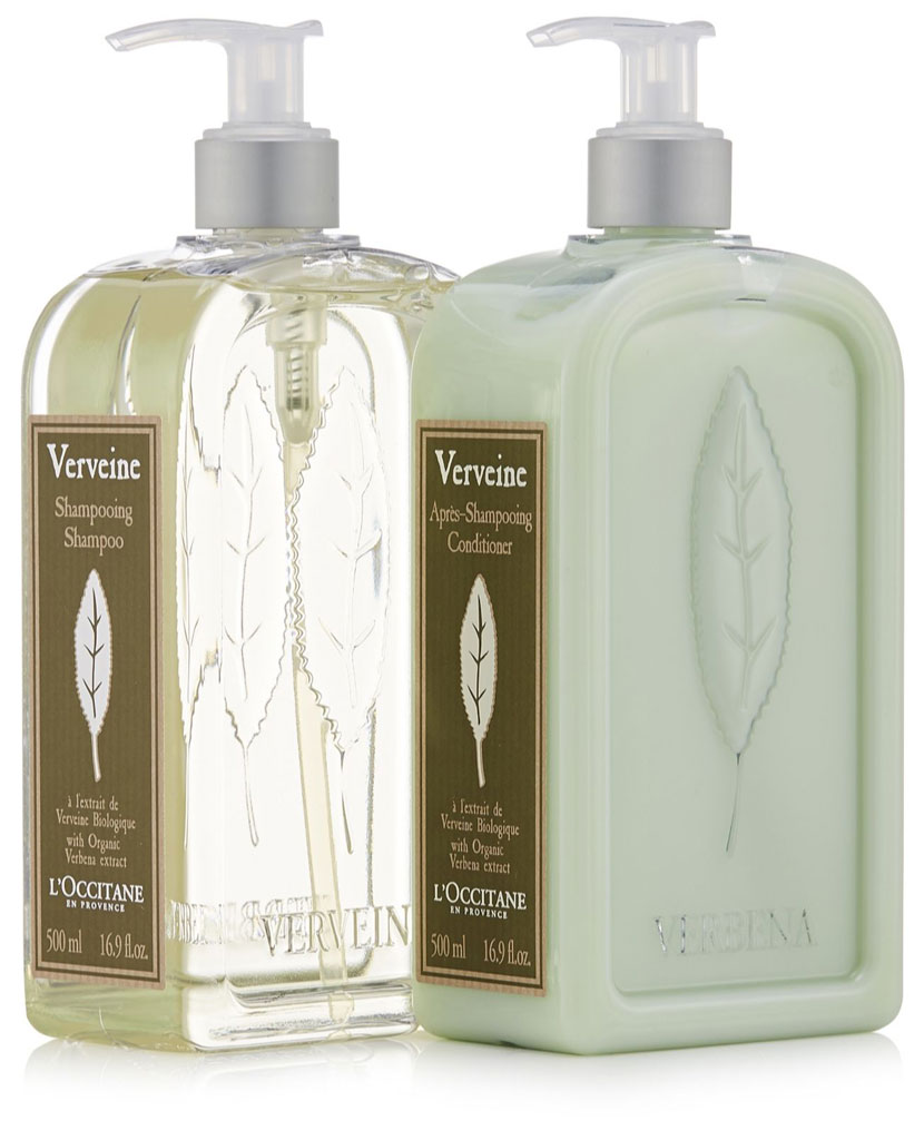 L'Occitane Citrus Verbena Shampoo and Conditioner