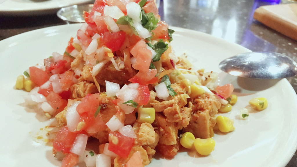Tortilla-free Southwest Chicken Tacos