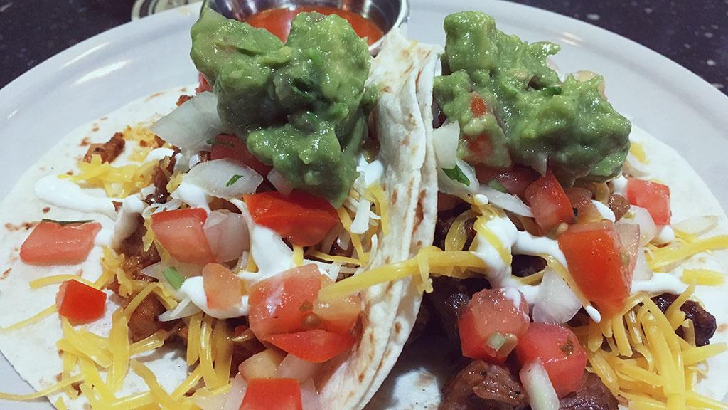 Chicken and Steak Tacos