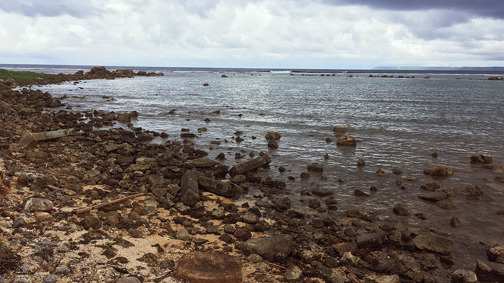 Rocky Beach Near the Historical Park