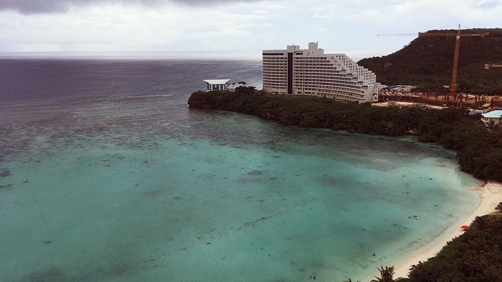 View from My Room in Westin Resort Guam