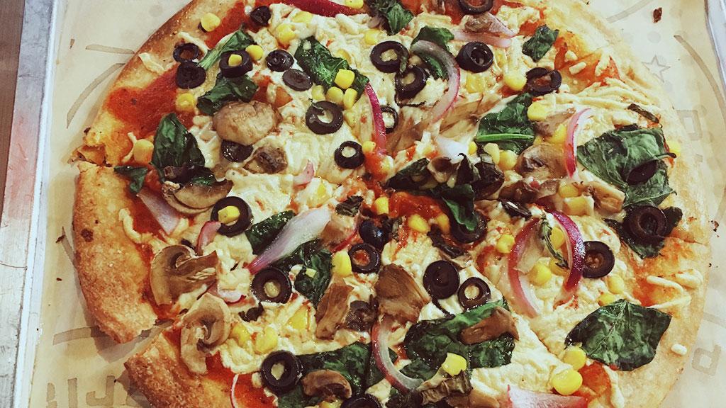 Vegan Pizza at Pieology