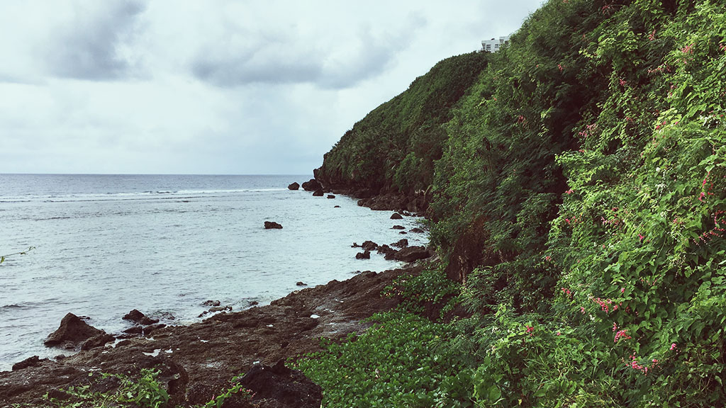 Back of Sheraton Laguna Resort