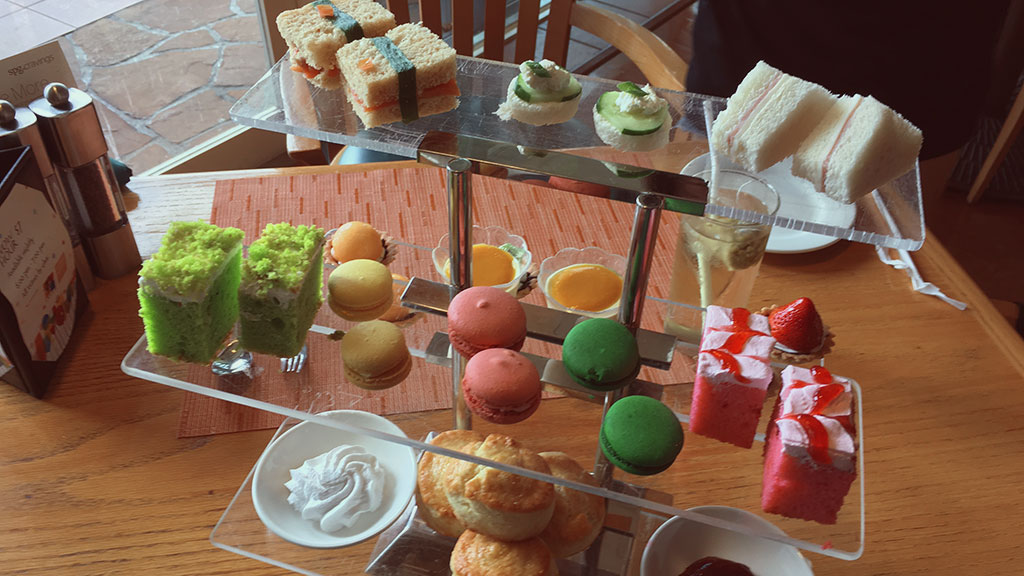 Afternoon Tea at Prego