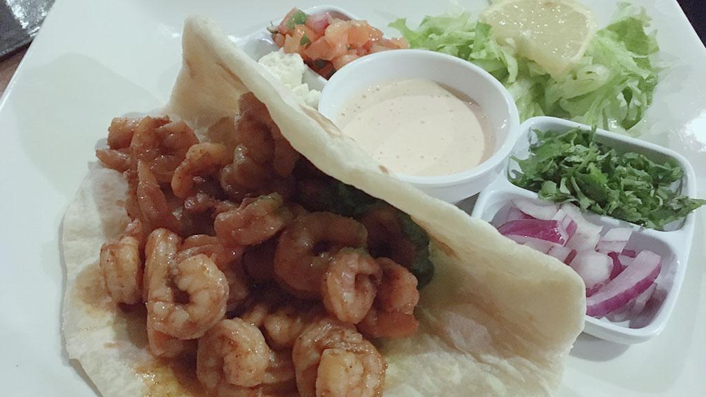 Shrimp Taco at Carmen's Cha Cha Cha
