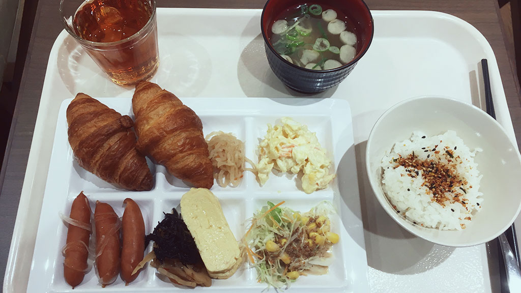Breakfast at Hotel WBF Yodoyabashi Minami