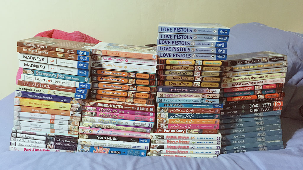 Books & Mangas