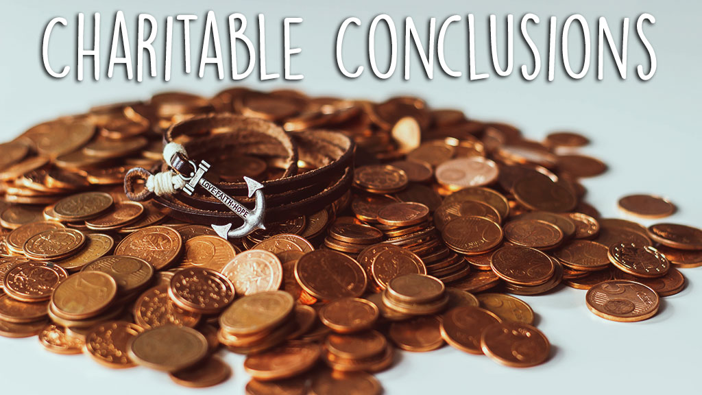 Charitable Conclusions (Original image from Unsplash.com)