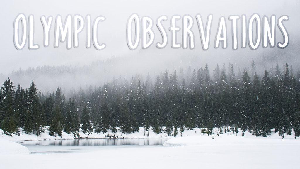 Olympic Observations (Original image from Unsplash.com)