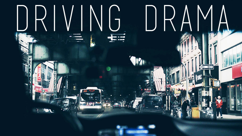 Driving Drama (Original image from Unsplash.com)