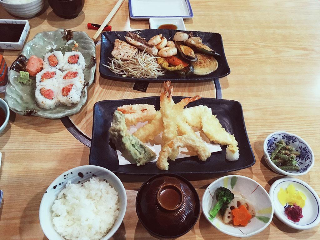 Japanese Dinner at Isshin