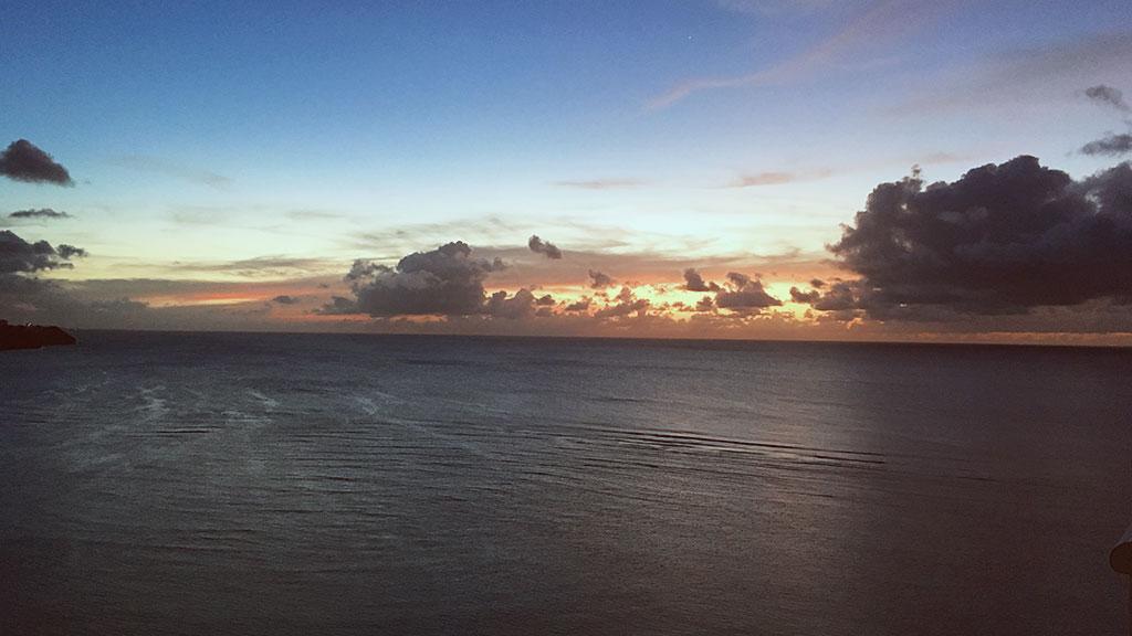 Sunset at Westin