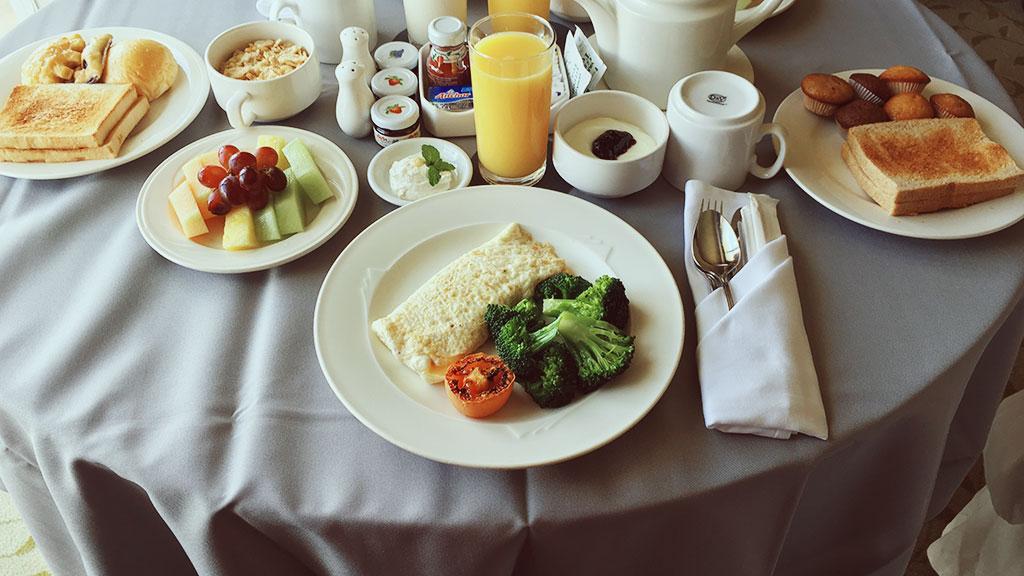 Westin Lifestyle Breakfast Room Service