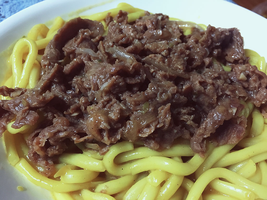 Curried Udon & Bulgogi