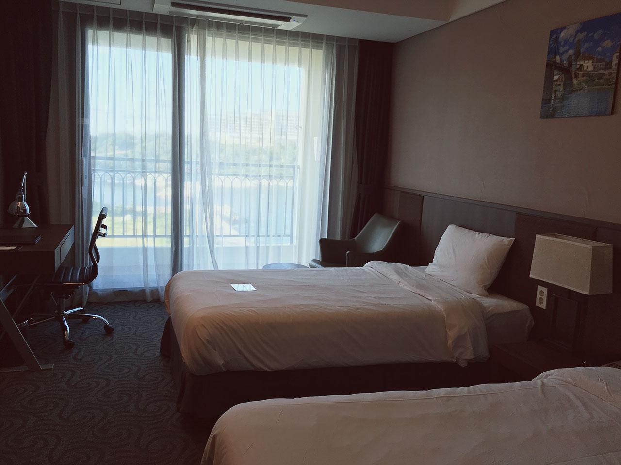 Hotel Room at Ramada Sokcho