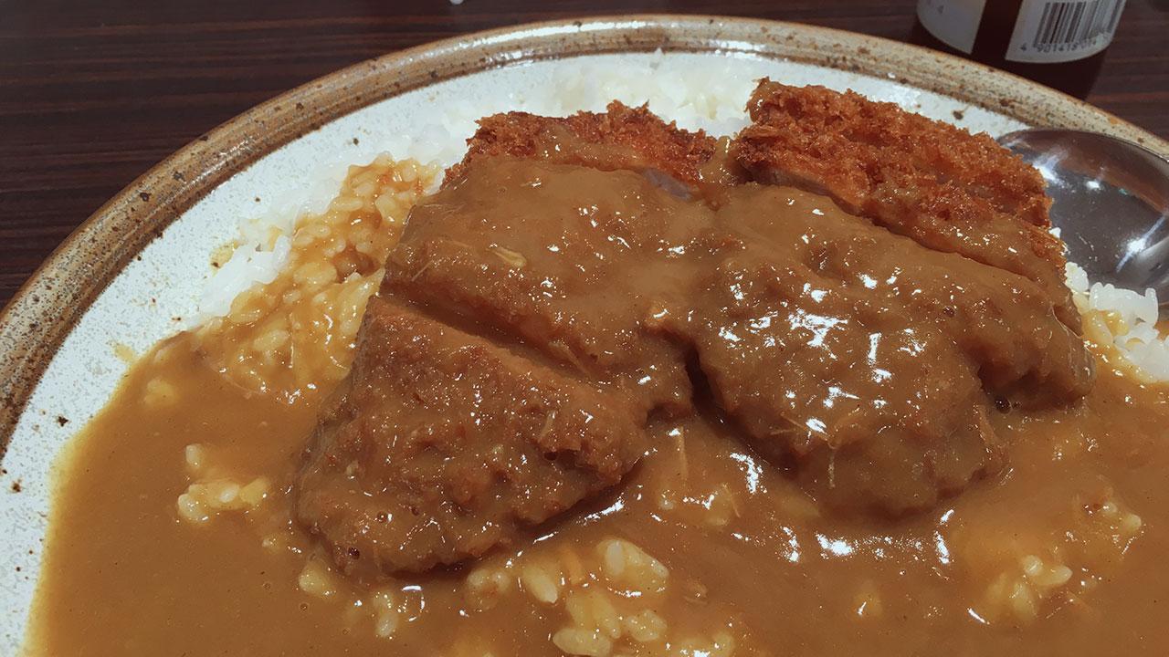 Curry Tonkatsu at CoCo Ichibanya